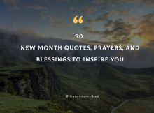 90 New Month Quotes, Prayers, And Blessings To Inspire You