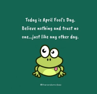 April Fools Day Quotes Funny
