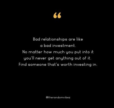 Bad Relationships Quotes