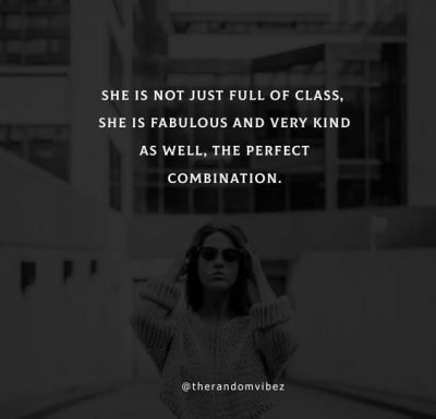 Classy Beautiful Woman Quotes