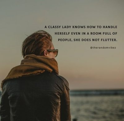 Classy Girly Quotes