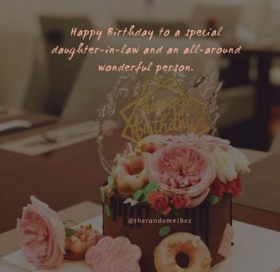 Daughter In Law Birthday Quotes
