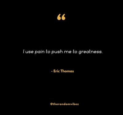 Eric Thomas Quote of the Day