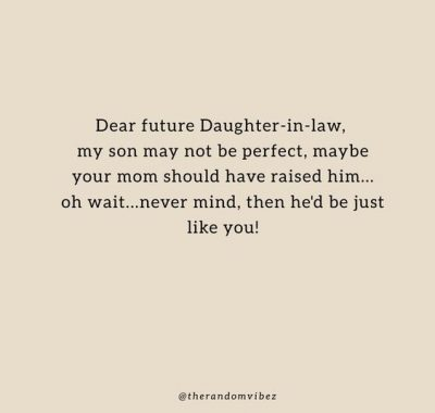 Funny Daughter In Law Quotes