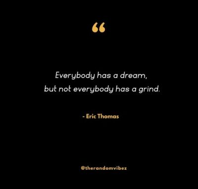 Greatness Eric Thomas Quotes