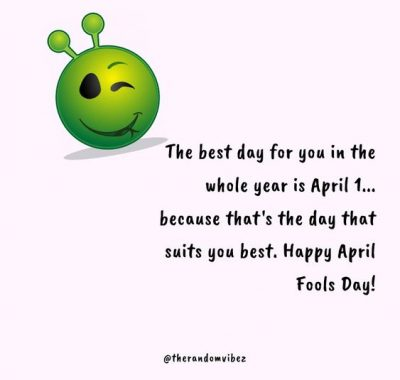 Happy April Fools Day Quotes Status