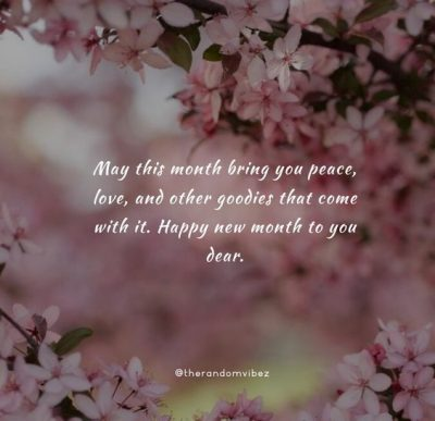 Have A Blessed Month QUotes