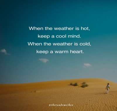 Hot Weather Quotes