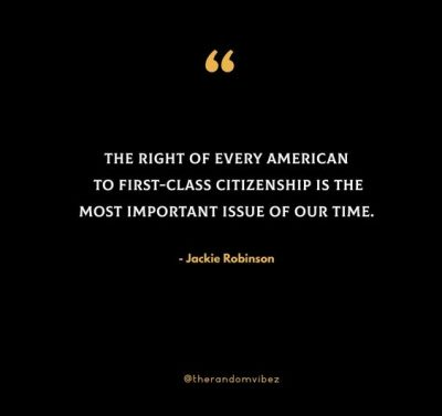 Jackie Robinson Equality Quotes