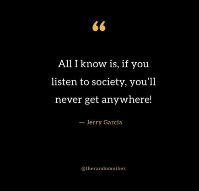 Jerry Garcia Political Quotes