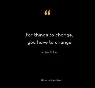 Jim Rohn Quotes About Change