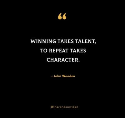 John Wooden Quotes About Character
