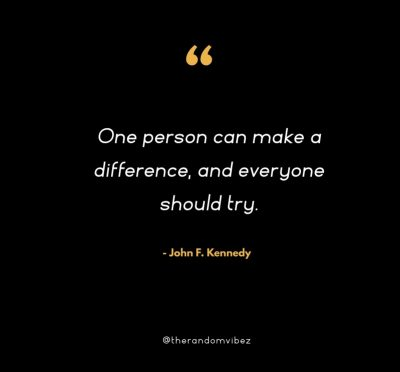 Making A Difference Quote