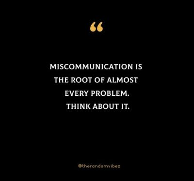 Miscommunication Quotes Images
