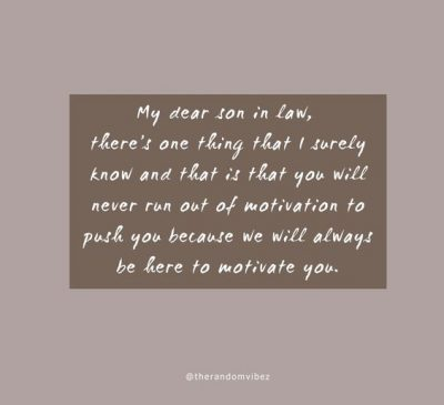 Mom And Son In Law Quotes