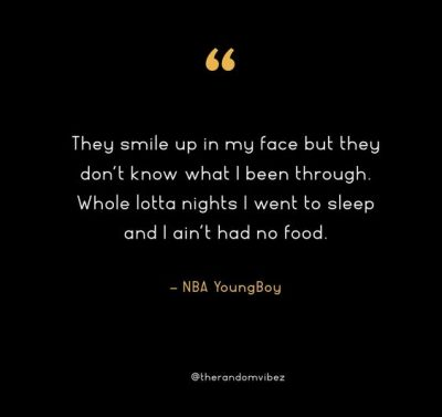NBA Youngboy Quotes From Songs