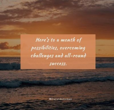 New Month New Beginnings Quotes