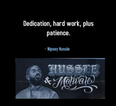 Nipsey Hussle Quotes From Songs