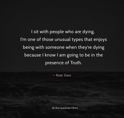 Ram Dass Quotes On Death