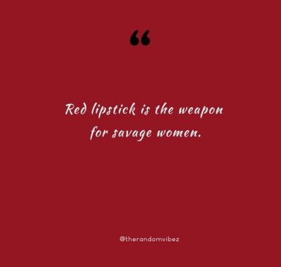 Red Lipstick Quotes Wallpaper