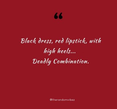 Red Lipstick Sayings