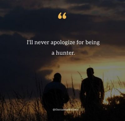 Short Hunting Quotes