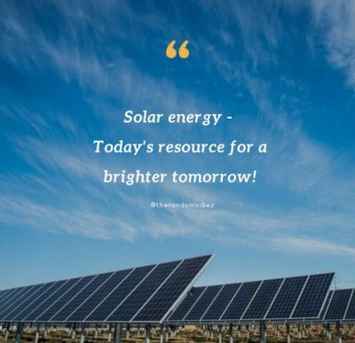 Solar Energy Quotes Images