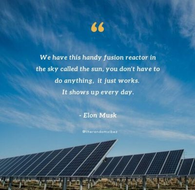Solar Power Quotes By Elon Musk
