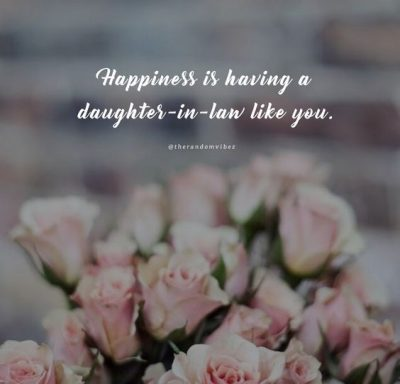 To My Daughter In Law