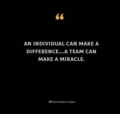 Together We Make A Difference Quotes