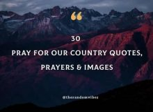 30 Pray For Our Country Quotes, Prayers, Images [2021]
