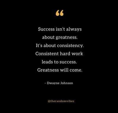 Consistency Quotes Hard Work