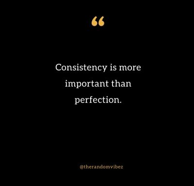 Consistency Quotes Images