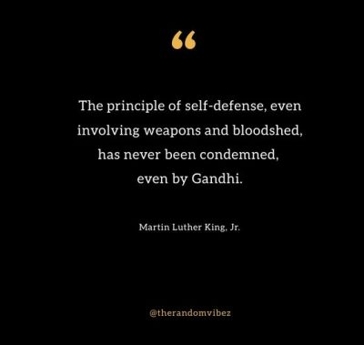 Famous Self Defense Quotes