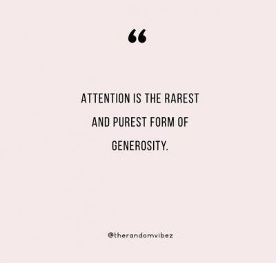Lack Of Attention Quotes Images