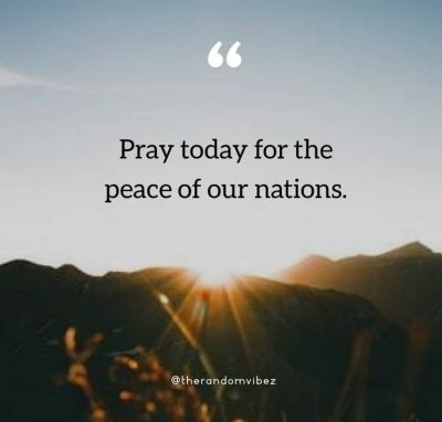 Pray For Our Country Quotes