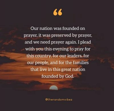 Prayer For Country Healing Quotes