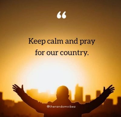Short Prayer For Our Country