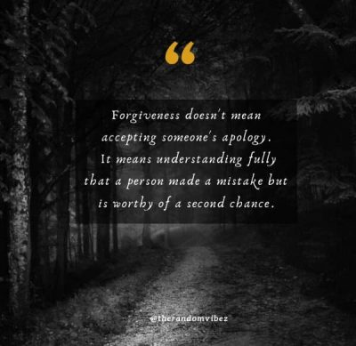 Forgiveness Second Chance Quotes