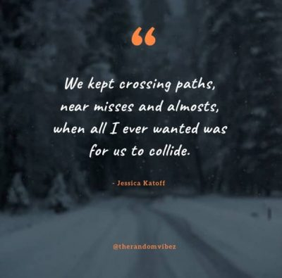 Friends Crossing The Paths Quotes