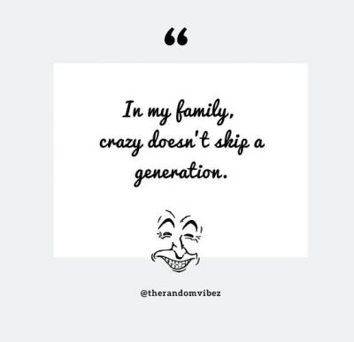 Funny Family Sayings