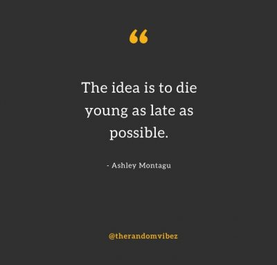 Funny Quotes About Dying Young