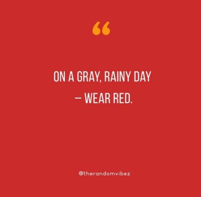 Funny Red Dress Quotes