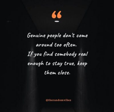 Genuine People Quotes Images