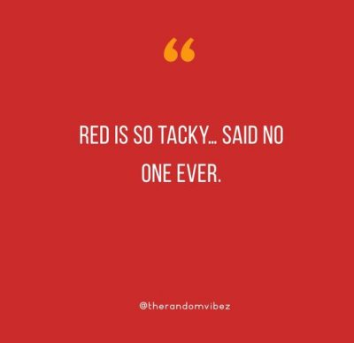 Girl In Red Dress Quotes