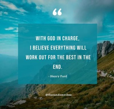 God Is Still In Control Quotes