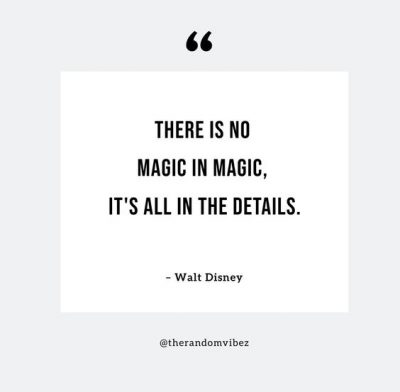 It's All In The Details Quotes