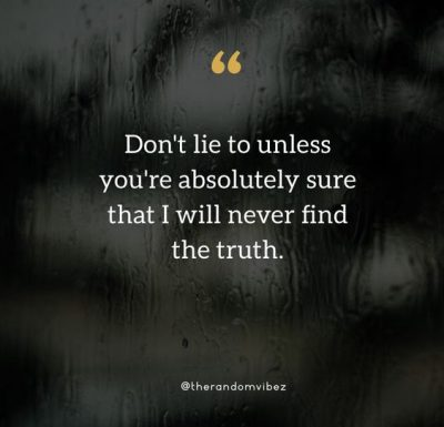 Lying Girlfriend Quotes Images