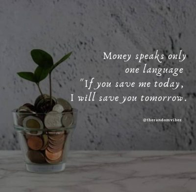 Motivational Quotes About Saving Money