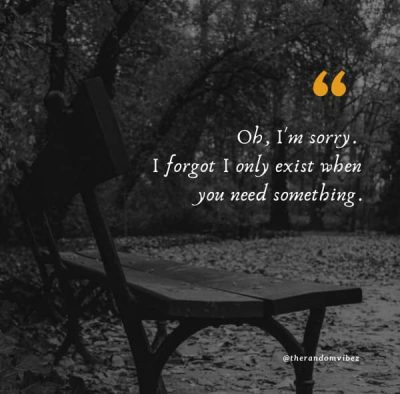 One Sided Friendship Quotes Images